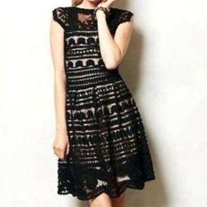 Yoana Baraschi lace black dress size 10